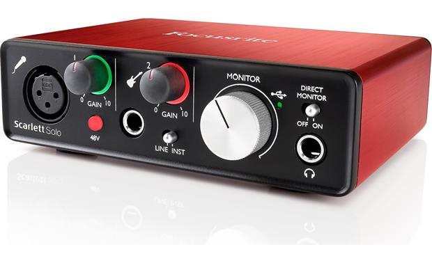 Focusrite Scarlett Solo (Second Generation) Front